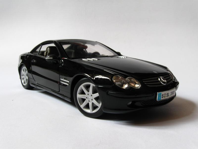 Maisto Mercedes Benz Sl500 Review Toyforia Com