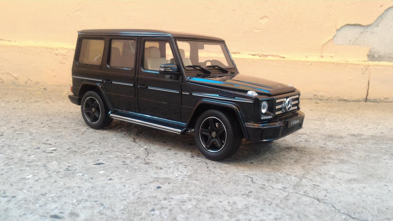 The 1:18 i-Scale Mercedes-Benz G Wagon is a great bang for the buck