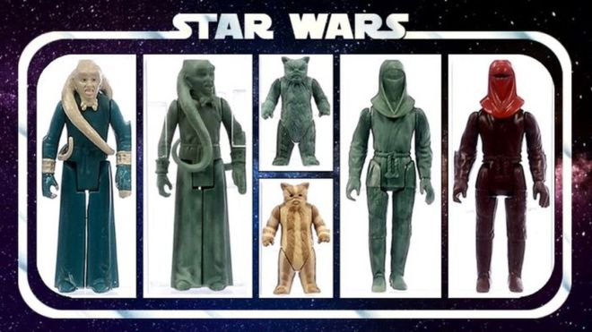 Prototypes of Star Wars toys sell at auction for $47 000